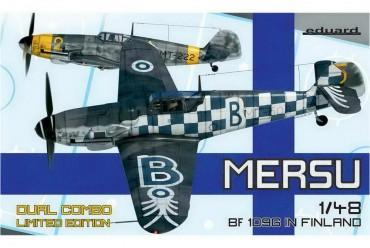 Mersu / Bf 109G в Финляндии. Две модели 1/48
