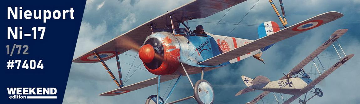 Новинки февраля - Nieuport Ni-17 1/72