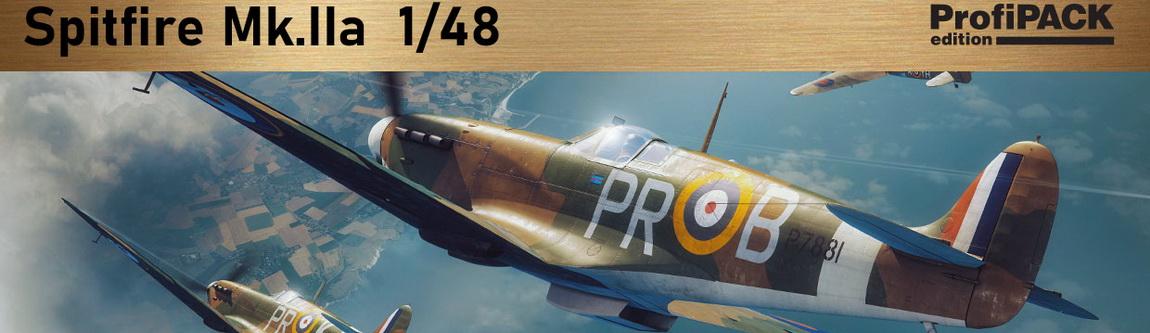 Новинки февраля - Spitfire Mk. IIa 1/48